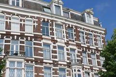 Architecture de bâtiment d'Amsterdam Image libre de droits