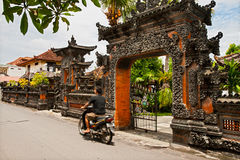 Architecture de Balinese Images stock