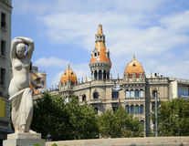 Architecture de Barcelone Photographie stock libre de droits