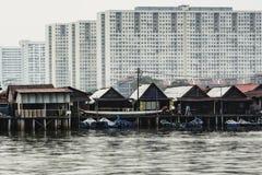 Architecture de bord de la mer images libres de droits