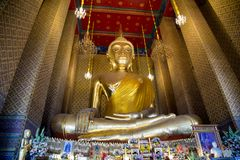 Architecture de bouddhisme - temple à prier Image stock