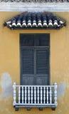Architecture de Carthagène de Indias. La Colombie Photos stock
