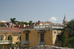 Architecture de Carthagène de Indias. La Colombie Image stock
