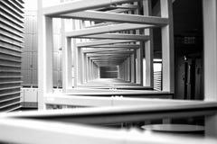 Architecture de centre de Kimmel Photographie stock