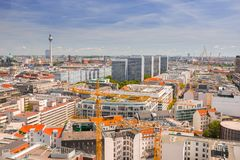 architecture de centre de la ville berlin photographie ditorial image du allemagne vieux. Black Bedroom Furniture Sets. Home Design Ideas