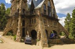 Architecture de château d'évêques dans le Colorado Photo libre de droits