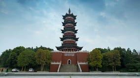 Architecture de chinois traditionnel banque de vidéos