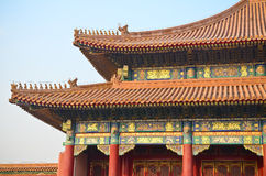 Architecture de chinois traditionnel Images libres de droits
