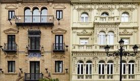 Architecture de classique de Séville photo stock