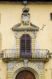 Architecture de Comune di Sansepolcro Image stock