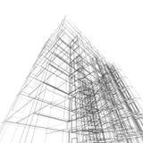 Architecture de construction Photo stock