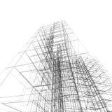 Architecture de construction Photographie stock