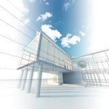 Architecture de construction Photo libre de droits