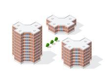 Architecture de construction urbaine Photographie stock libre de droits