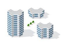 Architecture de construction urbaine Images stock