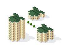 Architecture de construction urbaine Image libre de droits