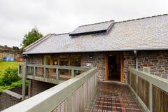 Architecture de Conwy, Pays de Galles, Grande-Bretagne Photos libres de droits