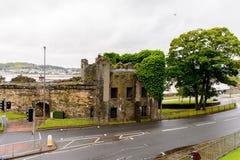 Architecture de Conwy, Pays de Galles, Grande-Bretagne Photographie stock libre de droits