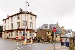 Architecture de Conwy, Pays de Galles, Grande-Bretagne Images stock