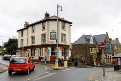 Architecture de Conwy, Pays de Galles, Grande-Bretagne Photo stock