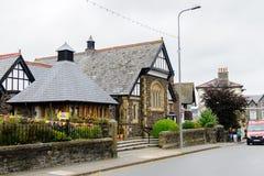 Architecture de Conwy, Pays de Galles, Grande-Bretagne Image libre de droits