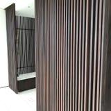 Architecture de couloir de conception intérieure Images stock