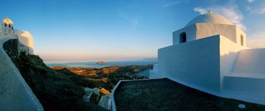 Architecture de Cyclades sur l'île de Serifos photos libres de droits