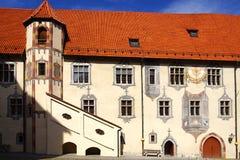 Architecture de Fussen. l'Allemagne Photographie stock