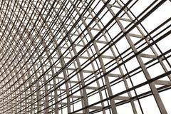 Architecture de grille de lucarne Photographie stock