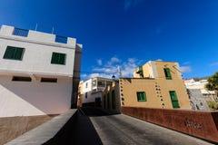 Architecture de Guia de Isora Photos libres de droits