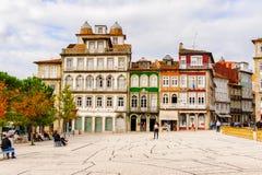 Architecture de Guimaraes, Portugal images libres de droits