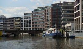 Architecture de HafenCity Hambourg - l'Allemagne - Europa photographie stock libre de droits