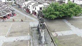 Architecture de Huizhou en Chine clips vidéos