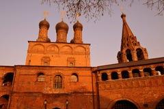 Architecture de Ktutitsy à Moscou Photos stock