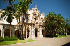 Architecture de l'Espagnol-Renaissance de stationnement de balboa images stock