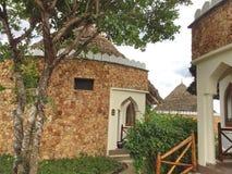 Architecture de l'hôtel à Zanzibar images stock