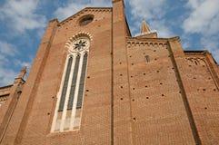 Architecture de la cathédrale Photos libres de droits