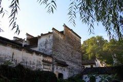Architecture de la Chine Huizhou Photos libres de droits