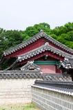 Architecture de la Corée du Sud photographie stock libre de droits