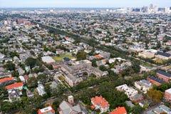 Architecture de la Nouvelle-Orléans Photographie stock libre de droits