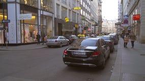Architecture de la partie centrale de Vienne image stock