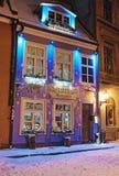 Architecture de la vieille ville de Riga Images libres de droits