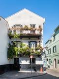 Architecture de la ville du Gibraltar photo stock