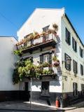 Architecture de la ville du Gibraltar photos stock