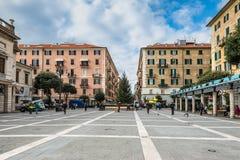 Architecture de la ville de Savone, Italie photographie stock libre de droits