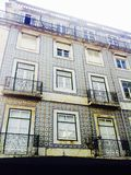 Architecture de Lisbonne photo libre de droits