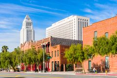 Architecture de Los Angeles, la Californie, Etats-Unis Photo stock
