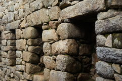 Architecture de Machu Picchu Photo stock