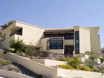 Architecture de maison haut de gamme Images stock