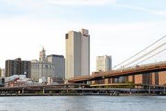 Architecture de Manhattan, New York, Etats-Unis image stock